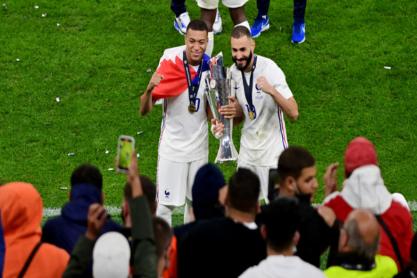 Nations League: Benzema wanted to win a trophy with France, & now it's done!