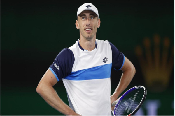 Australia-s John Millman has been involved in a tense exchange at the Indian Wells tennis tournament.