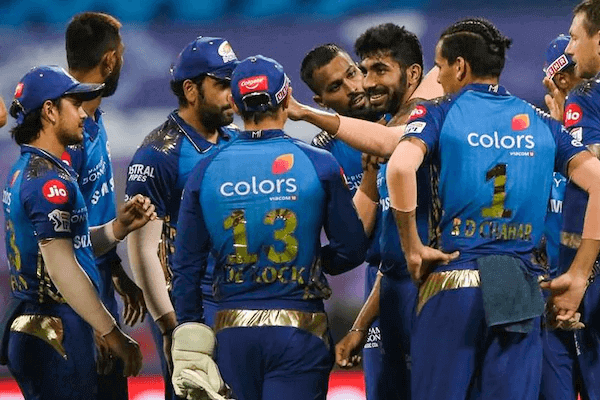Mumbai Indian beats Rajasthan Royals by 8 Wickets to remain in playoffs contention.